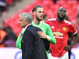 Mourinho critique l'énorme prolongation de De Gea. AFP