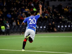 Morelos fires Rangers before latest red card. AFP