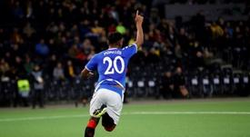 Alfredo Morelos sur les tablettes de l'Inter. AFPL'Inter Milan passe déjà au peigne fin le marché de