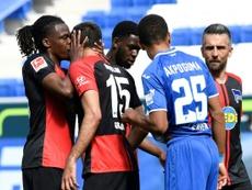 Dedryck Boyata will not be punished for kissing teammate Marko Grujic, AFP