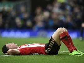 Bryan Oviedo no quiere seguir en el Sunderland. AFP/Archivo