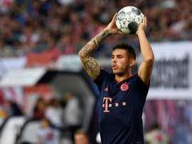 A knee injury to defender Lucas Hernandez sparked a war of words. AFP