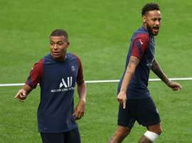 Mbappé could face Atalanta. AFP
