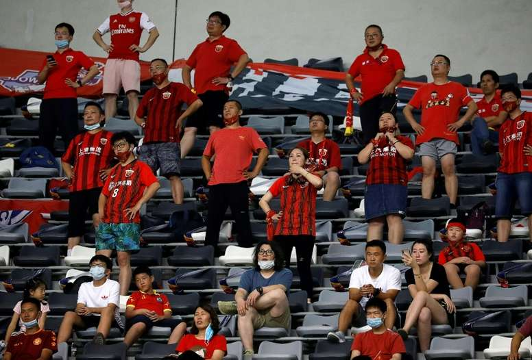 Fans were back in China. AFP