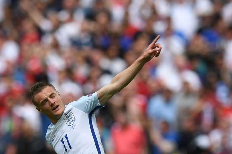 VIDÉO : la carrière internationale de Jamie Vardy. AFP