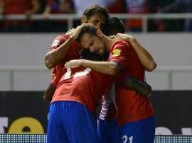 Costa Rica se enfrenta a España en La Rosaleda. AFP
