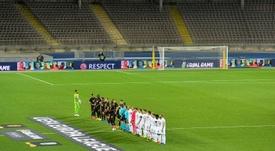 Los partidos de los octavos, en los estadios locales. AFP
