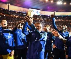 El Mundial fue el gran protagonista de 2018. AFP
