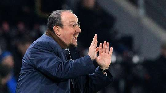 Rafa Benitez hopes to bring in a new goalkeeper this month. AFP
