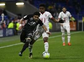Lyon perdeu em casa com o Lille. AFP