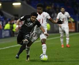 Thiago Mendes réalise un bon début de saison. AFP