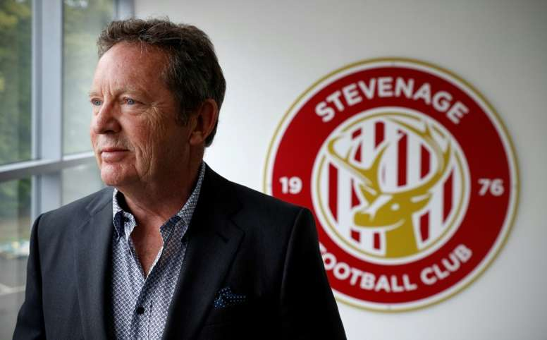 Phil Wallace has offered to buy a share at Stevenage. AFP