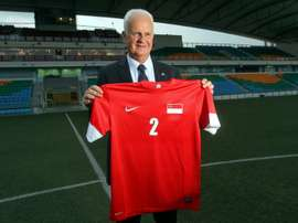East Germany-born Bernd Stange was brought in by the Football Association of Singapore (FAS) in 2013