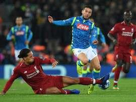 Liverpool sofre em casa. AFP