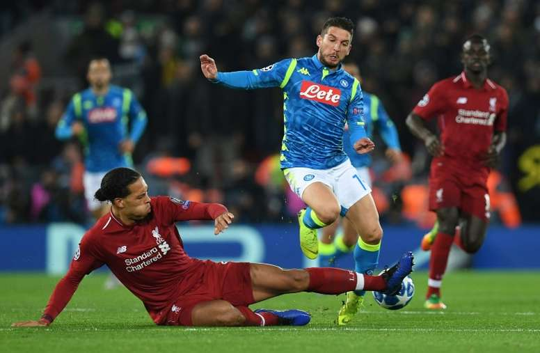 Napoli v Liverpool - preview and possible line-ups. AFP