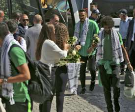 Saudi fans delight in West Bank game, shrug off geopolitics