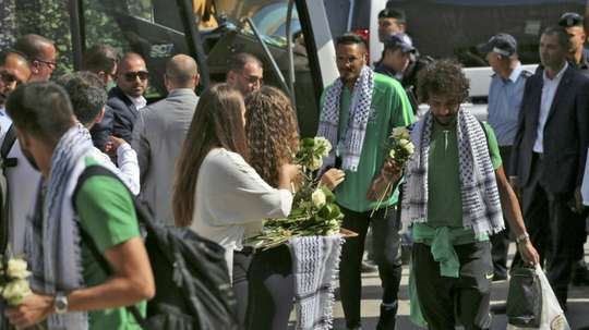 Saudi fans delight in West Bank game, shrug off geopolitics