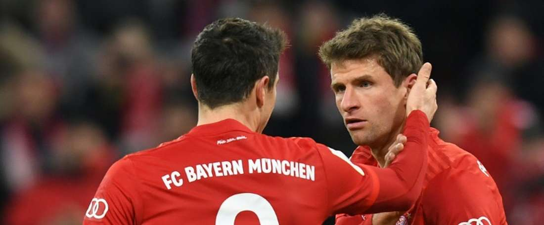 Mueller shines as Bayern squeeze into German Cup quarter-finals. AFP