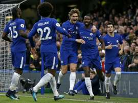 Chelsea outclass Stoke in five-goal drubbing. AFP