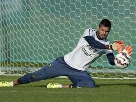 Romero manquera le Mondial. AFP