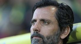 Quique contó su experiencia con el Atlético. AFP