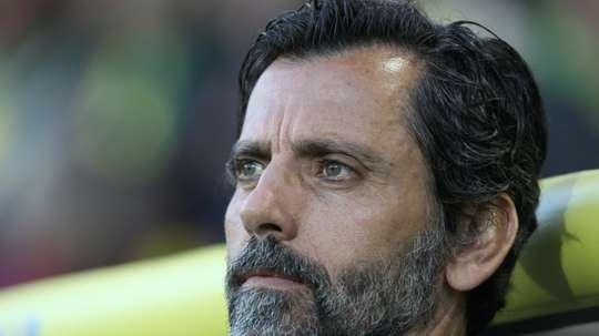 Quique Sanchez Flores serait content d'entrainer Madrid un jour. AFP