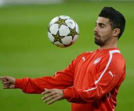 O médio português esteve em evidência neste jogo. AFP