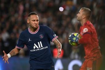 Neymar cree que el PSG aún tiene margen de mejora. AFP