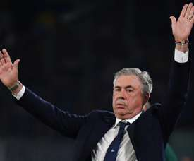 Ancelotti not giving way to 'euphoria' over Liverpool win