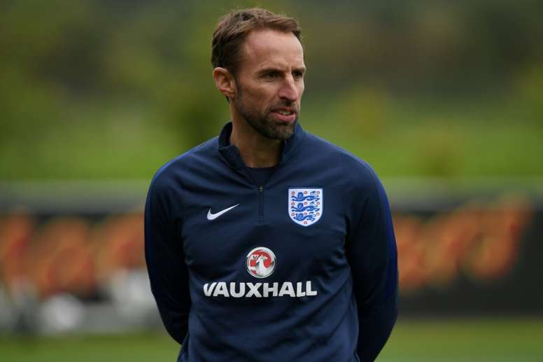 Southgate's selection has sparked controversy. AFP