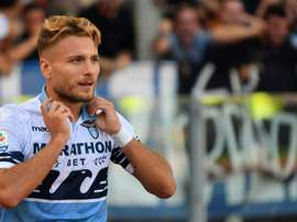 Immobile is back in the goals. AFP