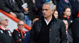 Mourinho feels his side were lucky at Bournemouth. AFP