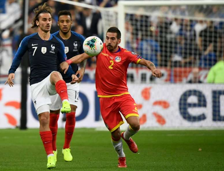 Deschamps to discuss penalties with Griezmann after latest miss. AFP