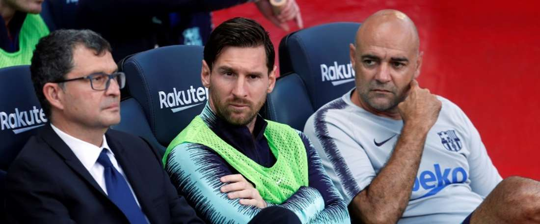 Plus que Messi. AFP