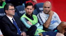 El Barça no pudo pasar del empate. AFP