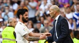 Importante para Zidane, Isco reencontra o bom futebol. EFE
