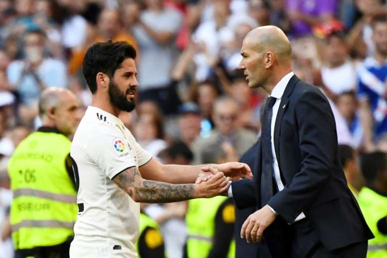 Isco is planning on leaving Real Madrid. AFP