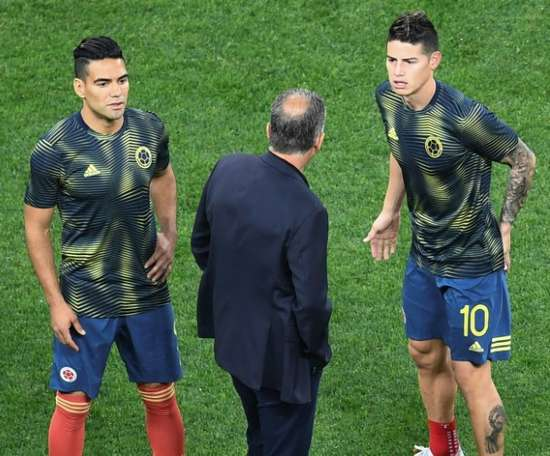 Colombia omit James and Falcao for Chile, Algeria friendlies. AFP