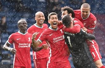 Liverpool a tranché pour ses gardiens. AFP