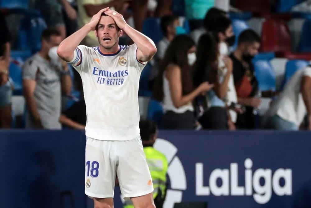 Bale, lesionado. AFP