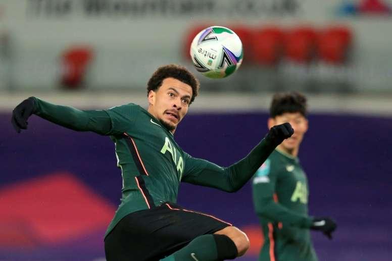 Dele Alli could sign for PSG. AFP