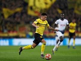 United pense à faire un gros effort pour Sancho. AFP