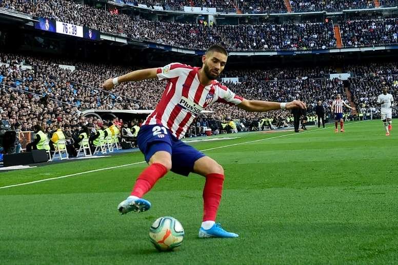 Carrasco cree que el fútbol le debe una al Atlético. AFP