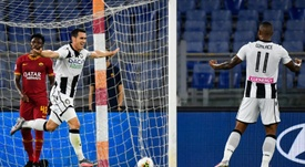 Roma were well beaten by Udinese at the Stadio Olimpico. AFP