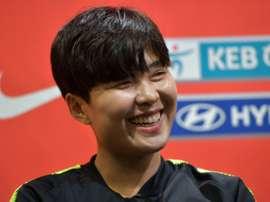 Ji So-yun has been dubbed the Korean Messi. AFP
