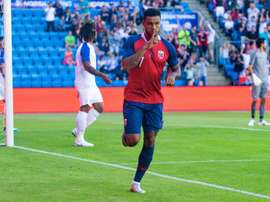 Joshua King opened the scoring for Norway. AFP