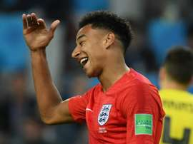 Lingard and Walker are England teammates. AFP