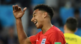 Lingard is trying to keep a low profile after returning home from the World Cup. AFP