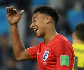 Lingard could be out of the Bulgaria clash. AFP