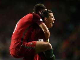 Otro doblete para Cristiano. AFP